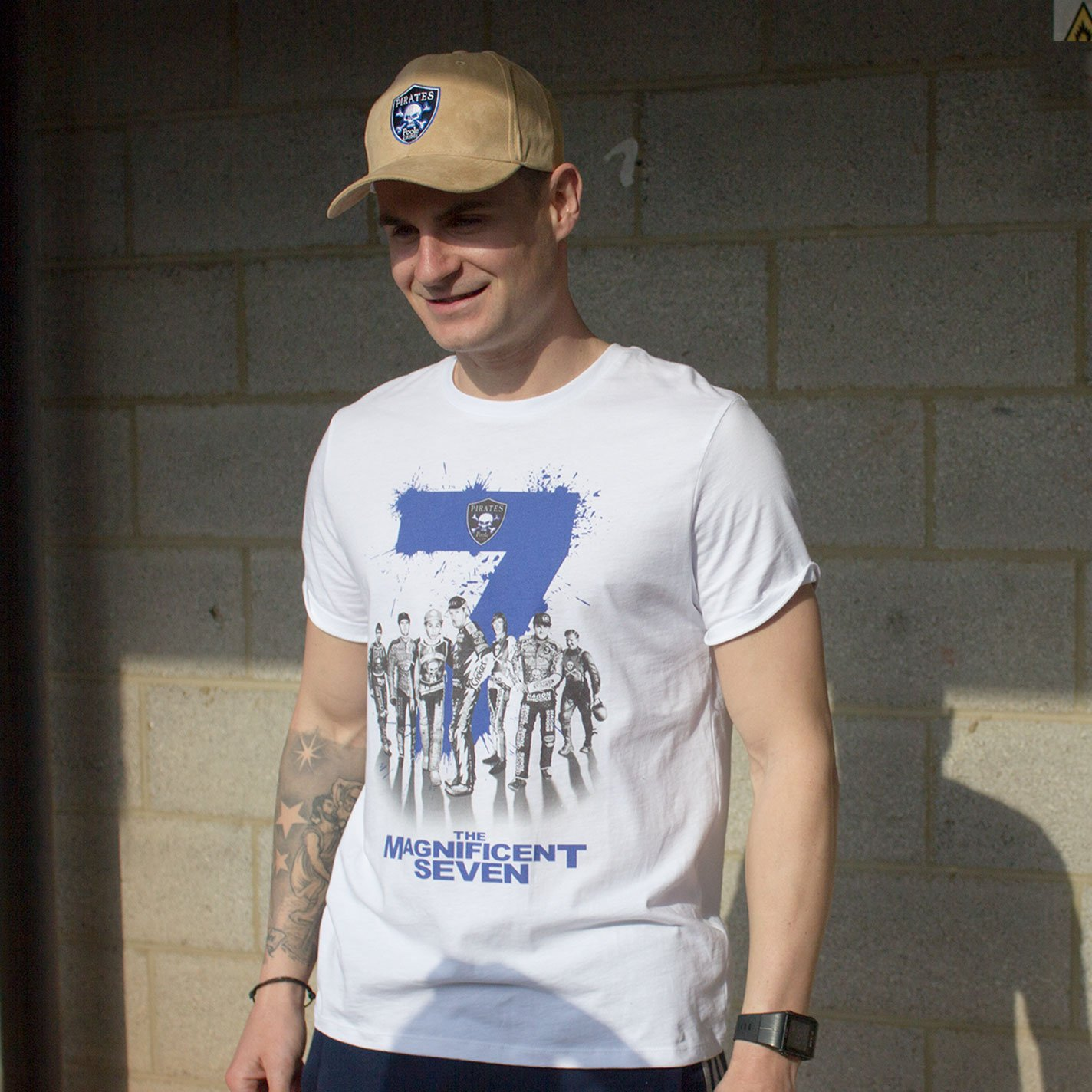 Poole Pirates Magnificent 7 T-Shirt
