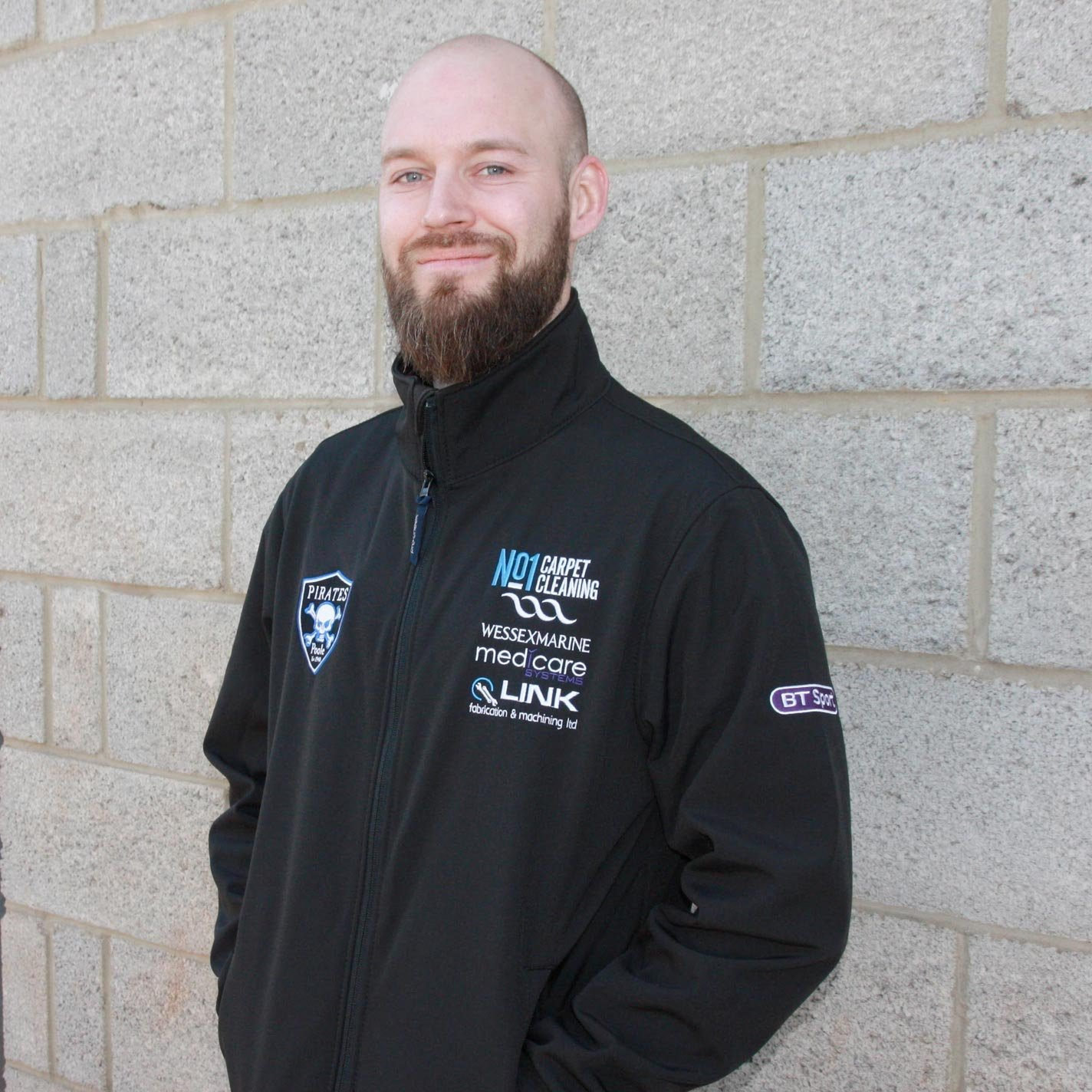 Poole Pirates 2019 Team Jacket