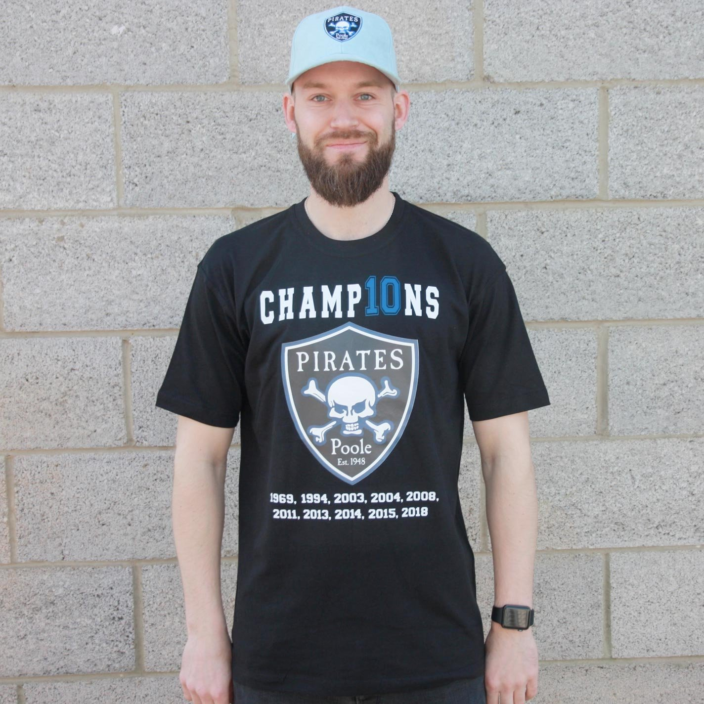 Poole Pirates Champ10ns T-shirt