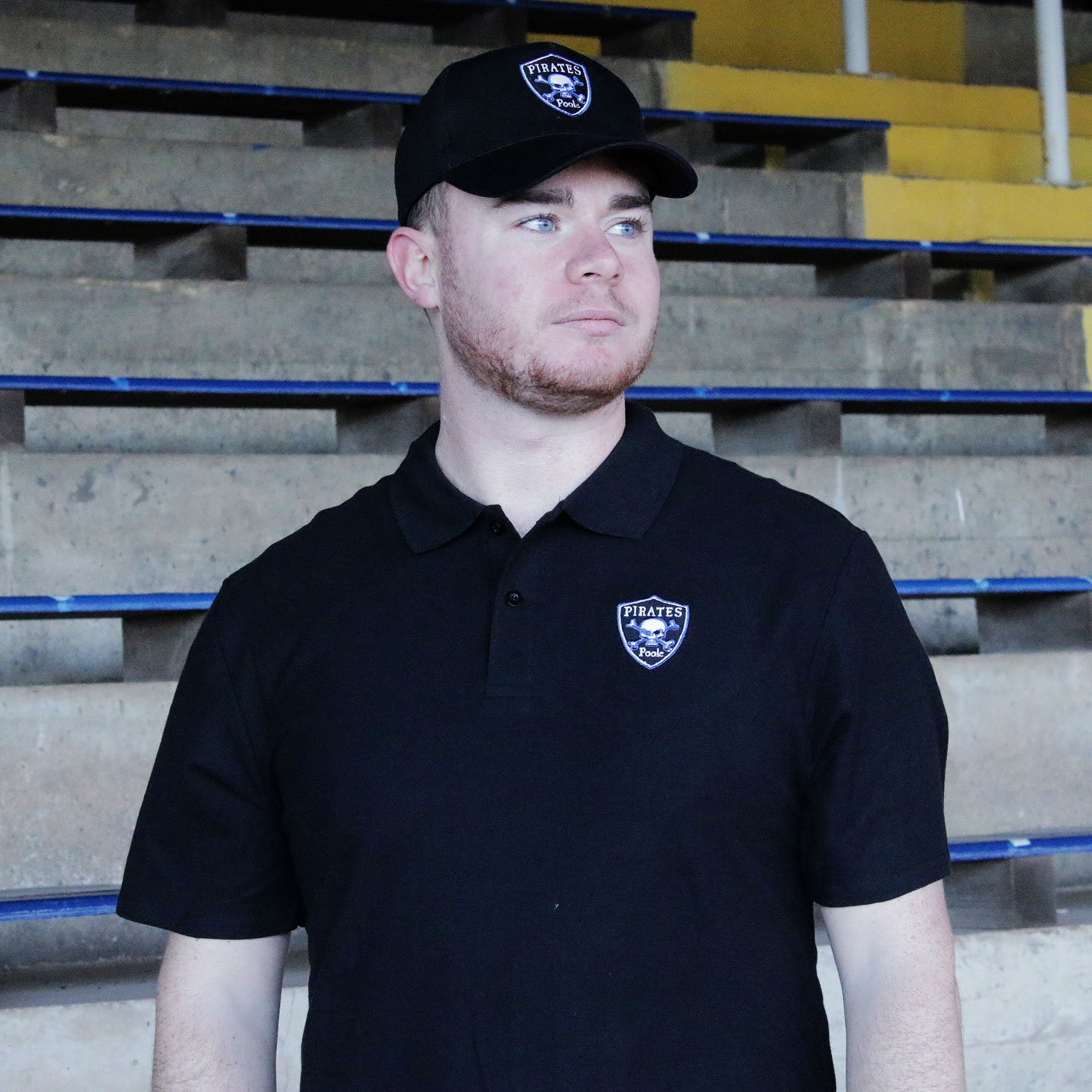 Poole Pirates Polo Black