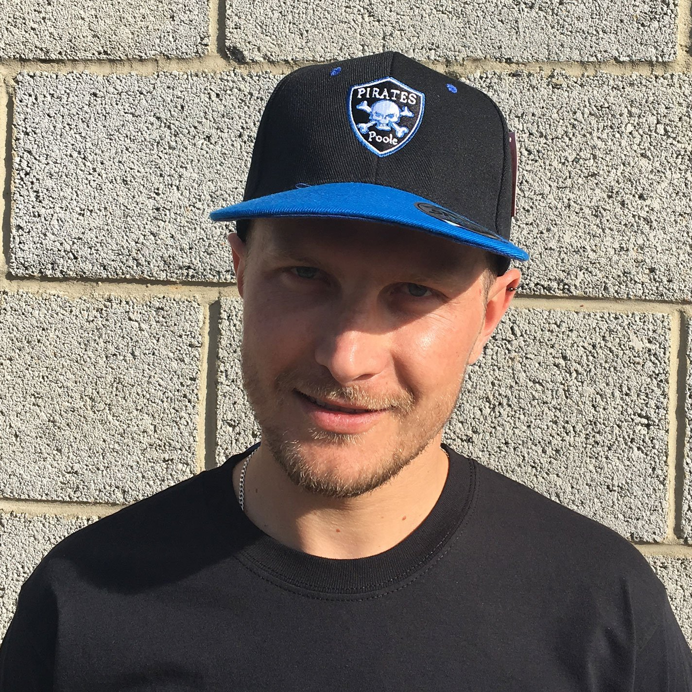 Poole Pirates Shield Flat Peak Cap